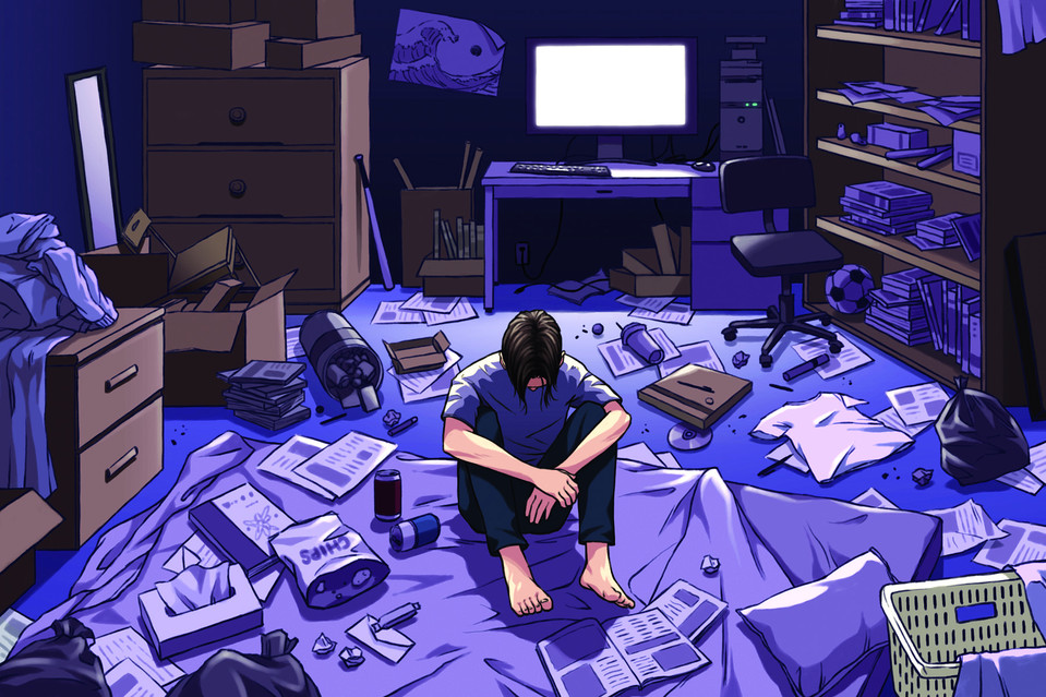 Hikikomori: l'illusione di un cielo in una stanza